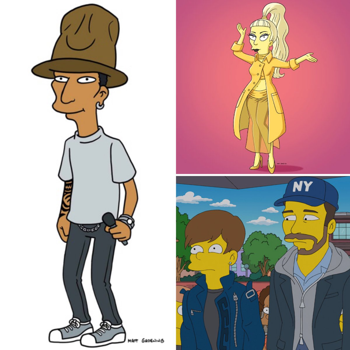 🎶 Your faves get animated as our marathon of #TheSimpsons best music cameos wraps up TONIGHT at 9E/6P with appearances by @Pharrell, @ladygaga, @justinbieber are more!
