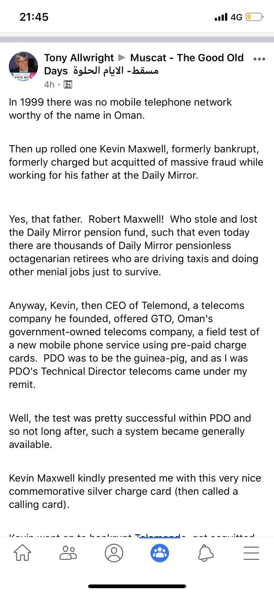 Telecom history in #Oman & some corruption to spice it up pic.twitter.com/mZS8PkTRsY