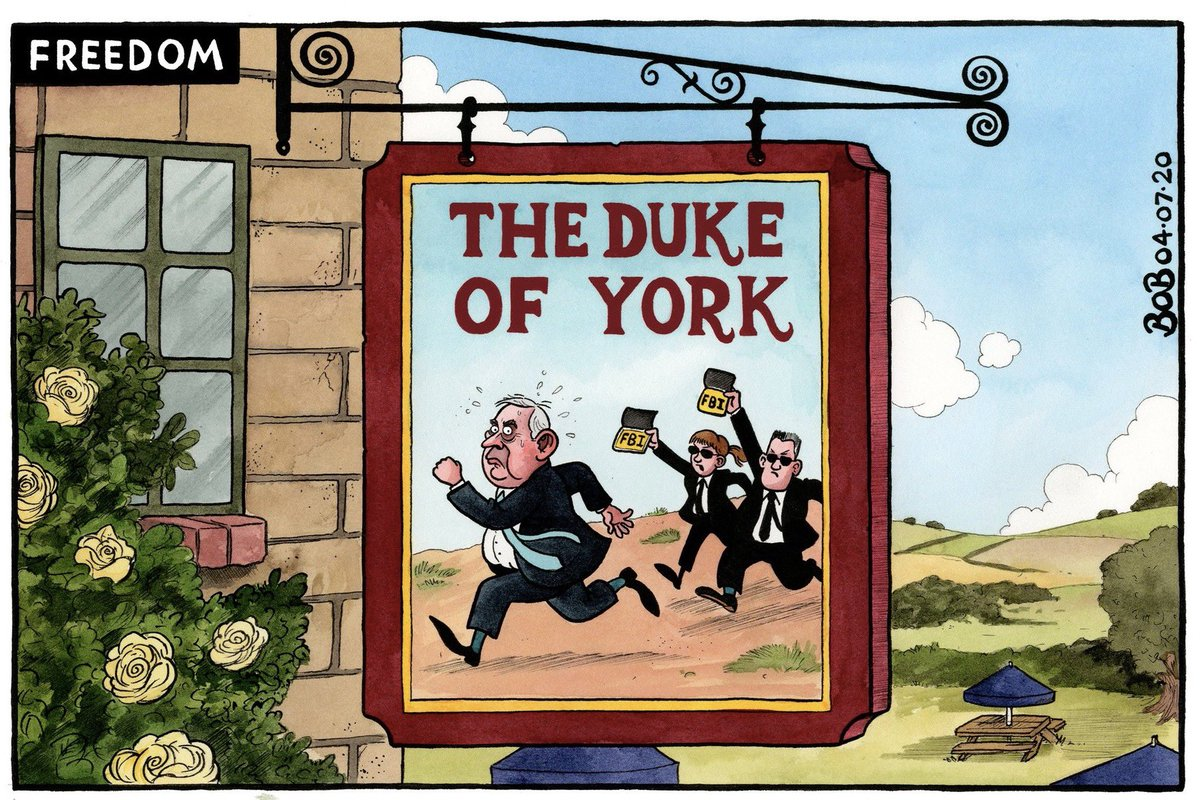 Bob Moran on #SuperSaturday #pubs #DukeofYork #JeffreyEpstein - political cartoon gallery in London  http:// original-political-cartoon.com    <br>http://pic.twitter.com/EO1ZGkLelK