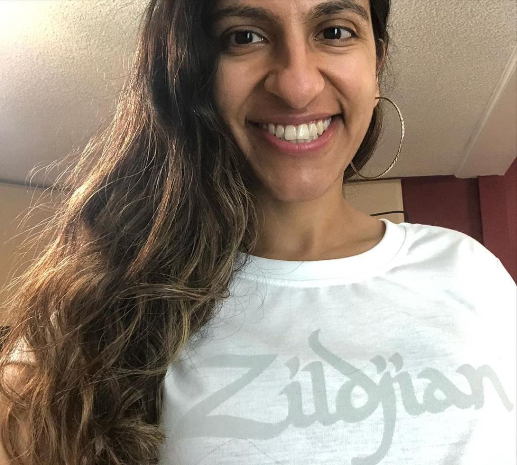Spotted: Sarah Thawer sporting our new Zildjian Women's Tee!   Available Now at: https://t.co/AvHofvSLuQ   #ZildjianStyle https://t.co/p5QYGXyBWJ