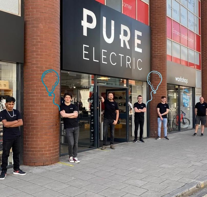 Pure Electric are now open!  Check out their latest range of e-scooters and e-bikes from the likes of Xiaomi, Segway and Haibike. Plus, chat to their electric-mobility experts who are ready in store to help. 🚲 https://t.co/t8EeNSKq2G