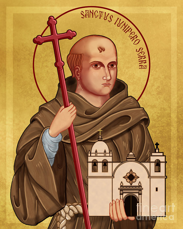 Juniper Serra is also known for his closeness to the First Peoples in what is now Mexico and California.  #franciscans #vocations