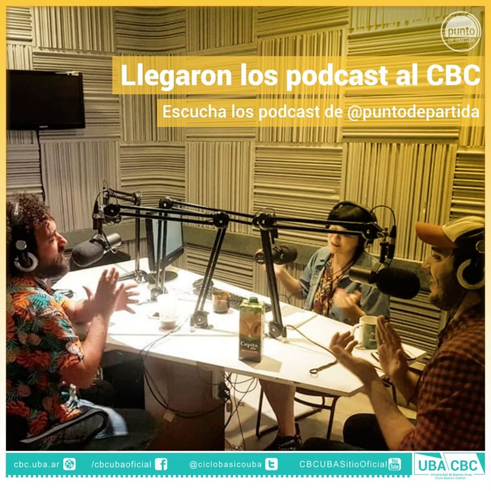 ¡No te pierdas el podcast del #CBC! @cbcptodepartida  y @RadioUBA  te invitan a informarte sobre la actualidad. Podés escuchar todos los episodios en 👉🏼 https://t.co/Z1IpZmTNu8… ¡No te los pierdas! @UBAonline https://t.co/V0dGcOJdcN