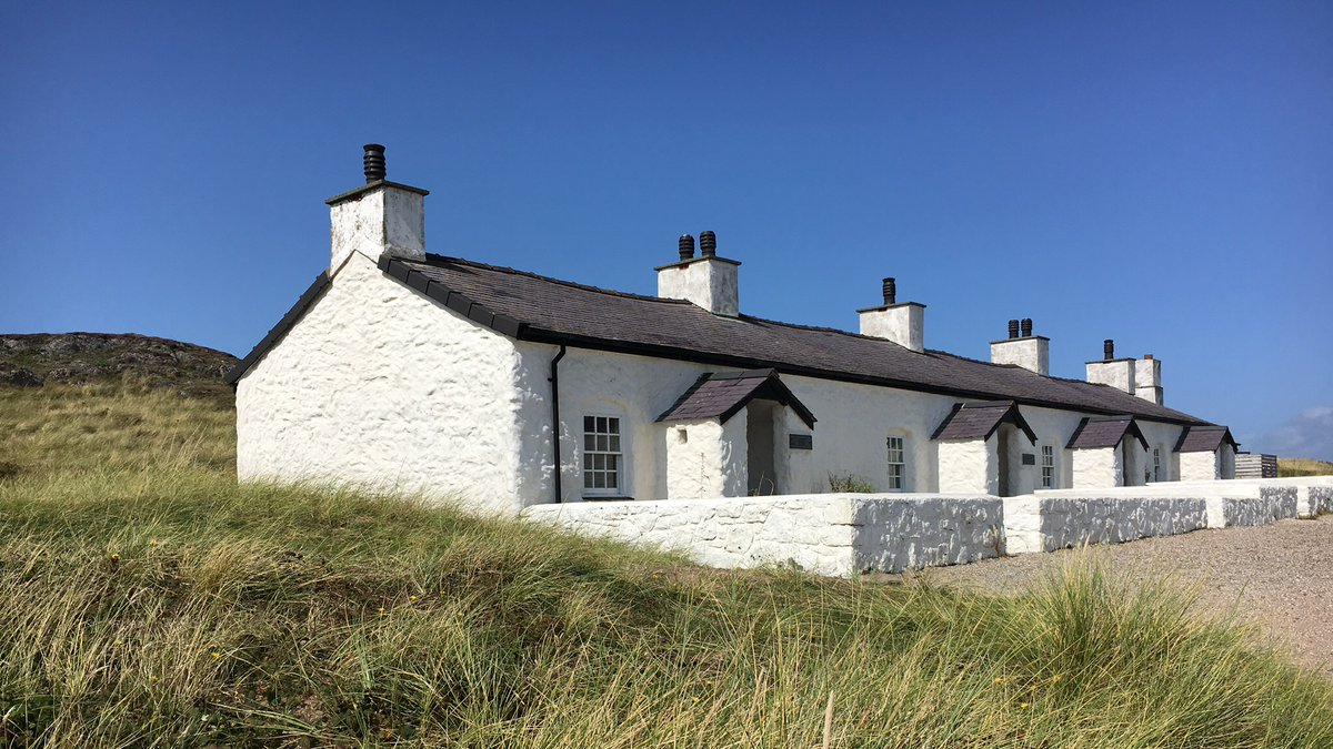 Pilot's cottages on Ynys Llanddwyn. One of our favourite places on the incredible Island of Anglesey. We'd love to get back there later this year if we can. #FlashbackFriday #Travel #FridayFeeling