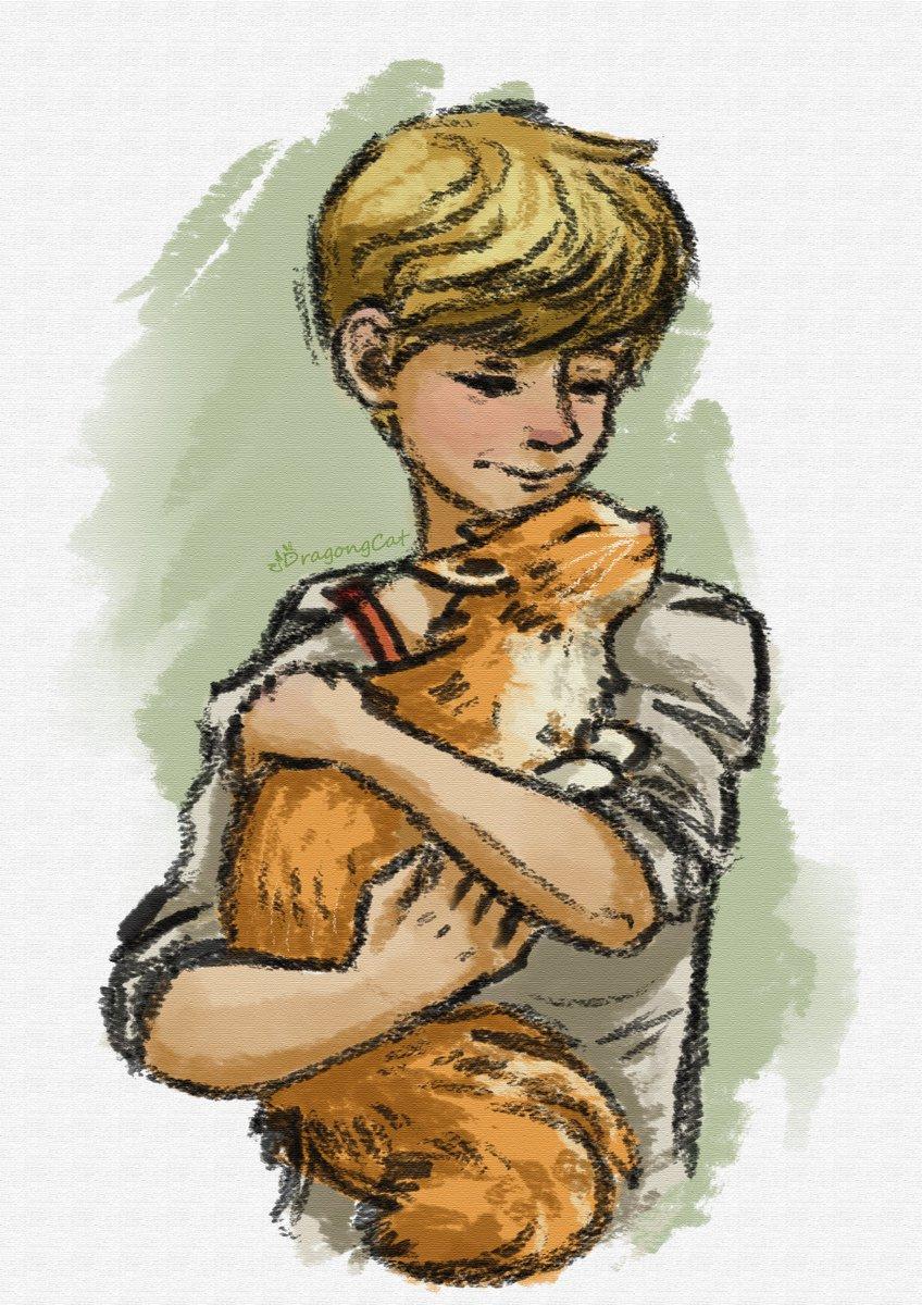 Newt now has a cat 💚 Thanks to Broccoli__Pizza's cosplay!(https://t.co/jnv6Nzumyd)   #Бегущийвлабиринте #TheMazeRunner #TheMazeRunner #TheScorchTrials #TheDeathCure #Newt #art #fanart #digitalart https://t.co/MLuTjZLbcp