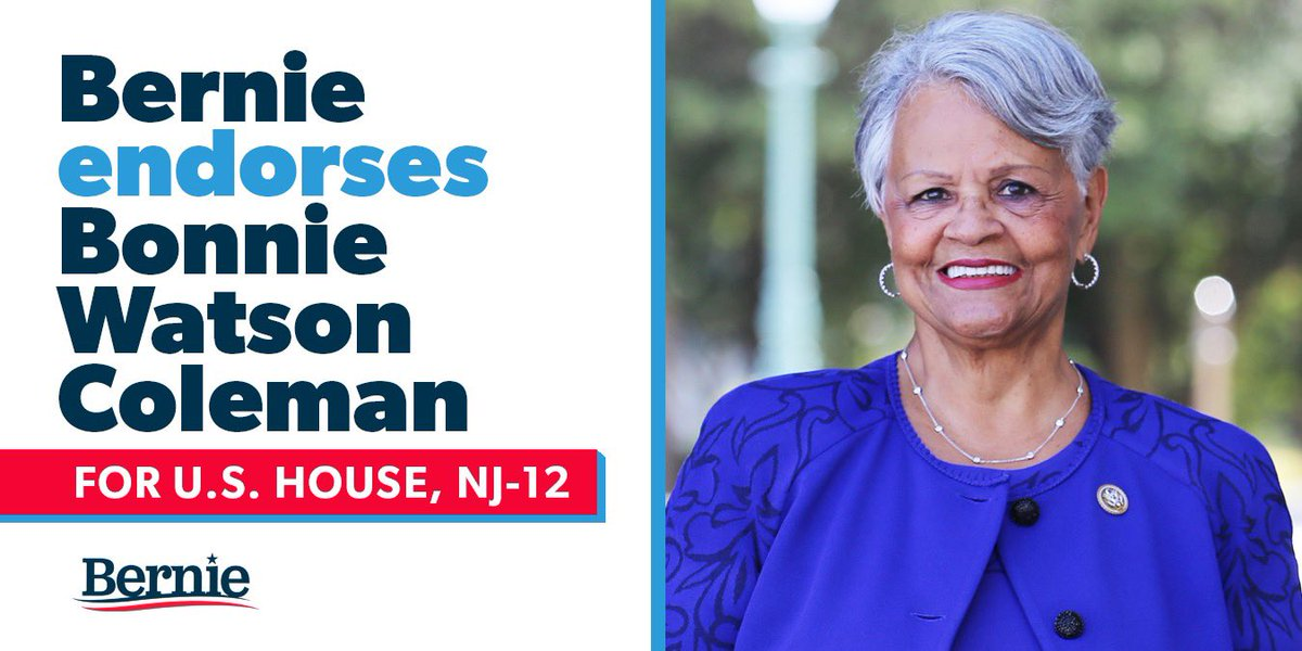 I'm proud to endorse @Bonnie4Congress for re-election.Bonnie has always been a strong, progressive voice in the fight for the needs of working families.She understands health care is a human right and the importance of a Medicare for All, single-payer program to cover everyone.