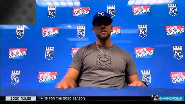 We will definitely be ready in three weeks. - @hdozier_17 of the @Royals joined #MLBTonight from Summer Camp!