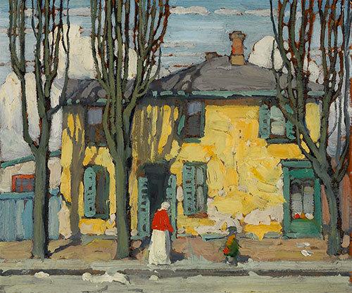 #paintings by © Lawren Stewart Harris (Canadian, 1885 - 1970)