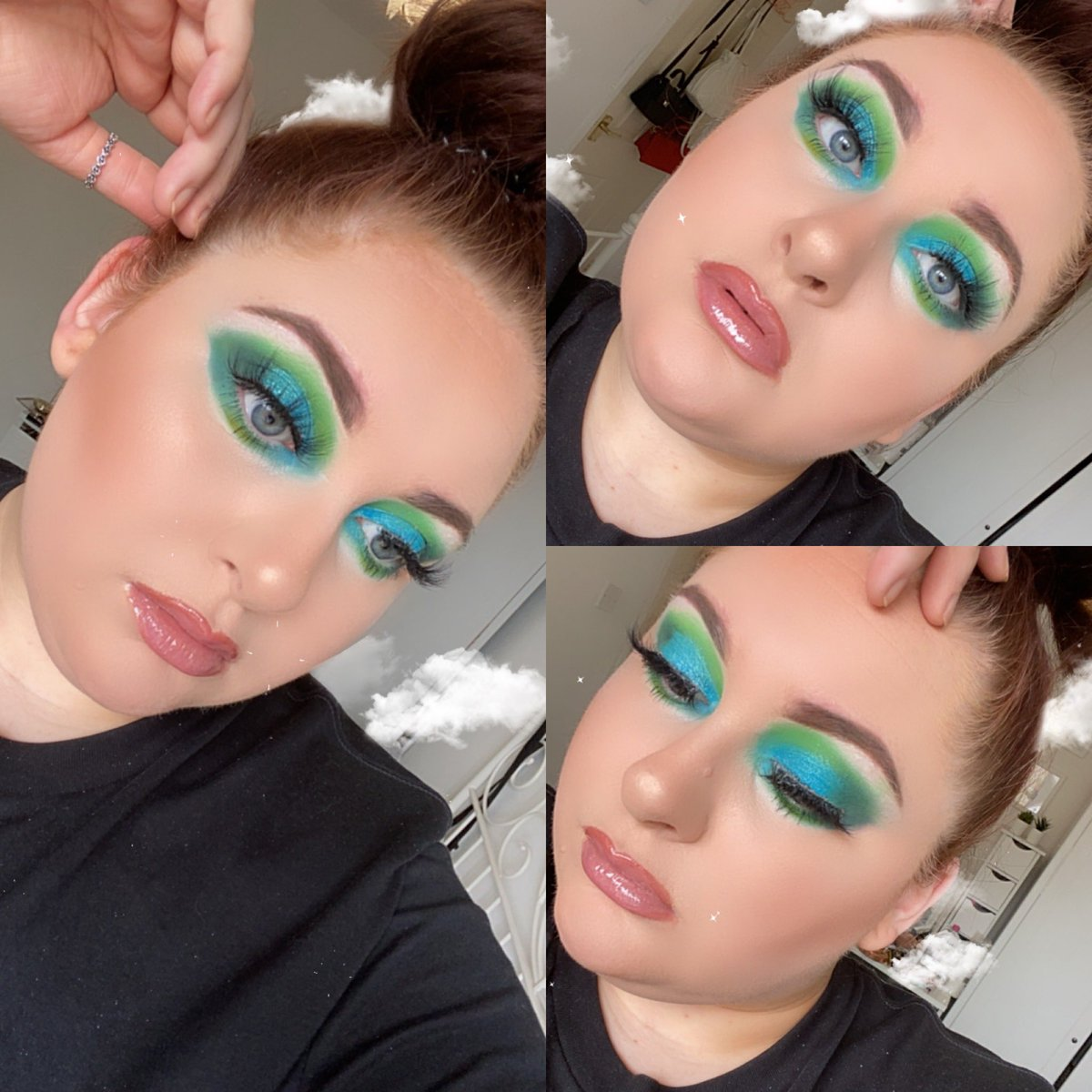 OCEAN EYES   #makeup #makeuplook #mua<br>http://pic.twitter.com/fwXPp5wSJq