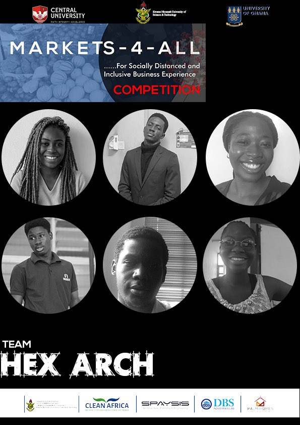 HexArch is a gender-balanced team from the Department of Architecture, KNUST.   This team hopes to augment their design skills through originality and innovation. <br>http://pic.twitter.com/gR58bkiGF5