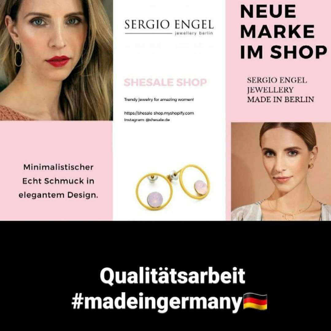 Ihr Lieben,  wer noch nach einem elegant, dezenten Schmuckstück für sich selbst oder als Geschenk sucht, wird bei Sergio Engel definitiv fündig!    Zum Stöbern geht's hier entlang: https://shesale-shop.myshopify.com/collections/sergio-engel…  #ootd #fashion #trend #jewelry #jewellery #bijoux #Schmuck #minimalistpic.twitter.com/rUgS2HEFjo  by SheSale Shop