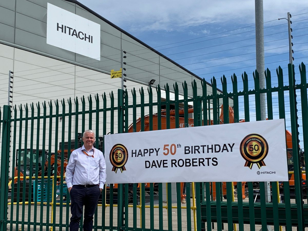 We'd like to wish a belated happy 50th birthday to @HCMUK CEO Dave Roberts. https://t.co/oFTviwDypq