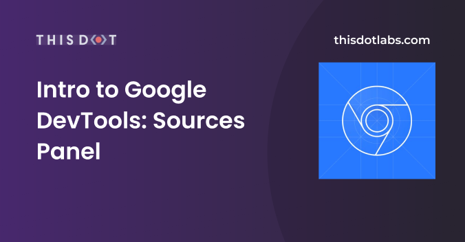 The Sources panel in Google DevTools allows you to easily debug and see what is going on with your code. @wphutt shows you the basics   https:// buff.ly/2CUZgJB       #webperformance #webdeveloper #100daysofcode<br>http://pic.twitter.com/SaYUORXSGV