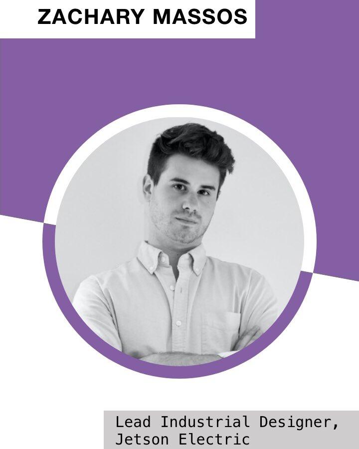 Zachary Massos, Lead Industrial Designer From Jetson Electric @RideJetson  July 2020, Week 1 IDSA NYC Designer Spotlight @IDSA @idsanyc  #idsanyc #idsa #industrialdesign #instagramstory #fridayonlypic.twitter.com/Lt7C85ENko