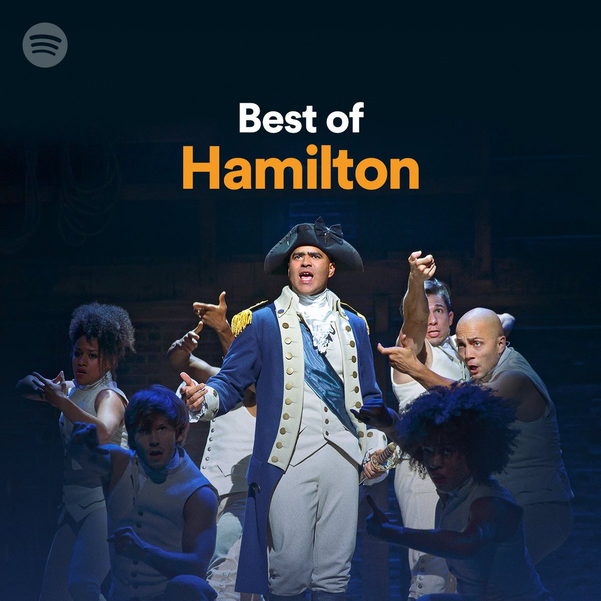 Drop a 🎶 if you're going to be singing to @lin_manuel's Best of Hamilton playlist all weekend spoti.fi/BestofHamilton