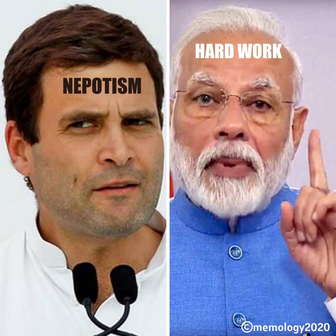 #memology2020 #originalmemes #narendramodi #rahulgandhi #Nepotism #talent #pmoindia #narendramodimemes #narendradamodardasmodi #modi #modiji #modimemes #pmofindia #indianmemes #hindimemes #dankindianmemes #dankmemes #indianpolitics #india  #bjp #modiinladakh #NaMo #nepotismmemespic.twitter.com/1zXYU3gA4L