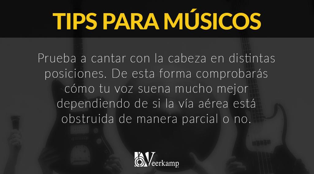 #TipsParaMúsicos 🎶  Hoy le toca a los cantantes de nuestra familia Veerkamp. 😎🔝 https://t.co/r5yGPZ94r4
