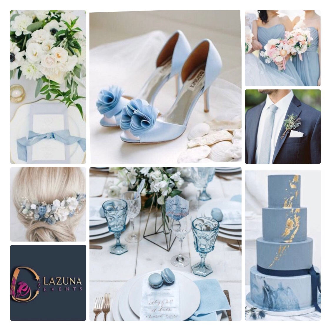 Dusty Blue colour theme is so fresh. Its also great for your something blue wedding tradition.   #lazunaevents #wedding #weddings #weddingplanning #weddingplanner  #weddingdetails #bride #weddingidea  #weddinginspo #weddingtrends #weddinginspiration #weddingideas #weddingstylepic.twitter.com/58KMPbXLPR