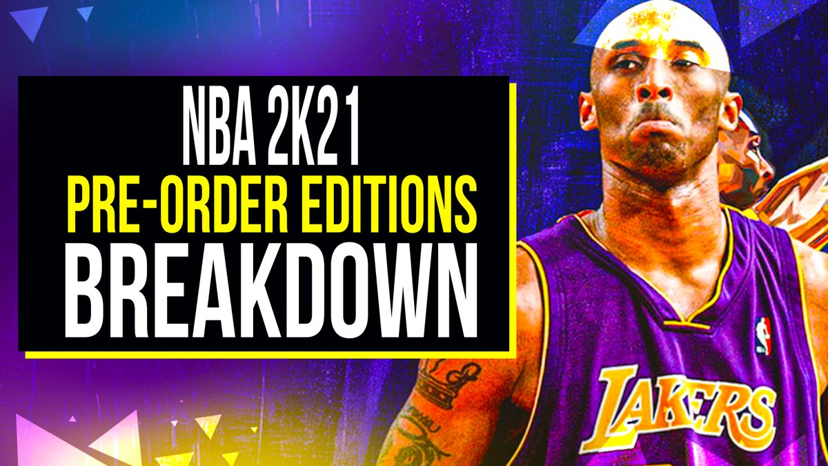 NBA 2k21 Which Edition Should You Buy?youtu.be/10oUEG53J7s #NBA2K21