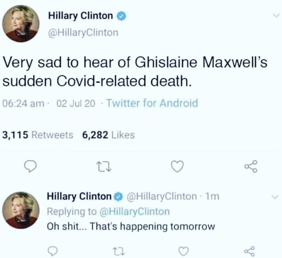 #GhislaineMaxwelldidNOTkillherself