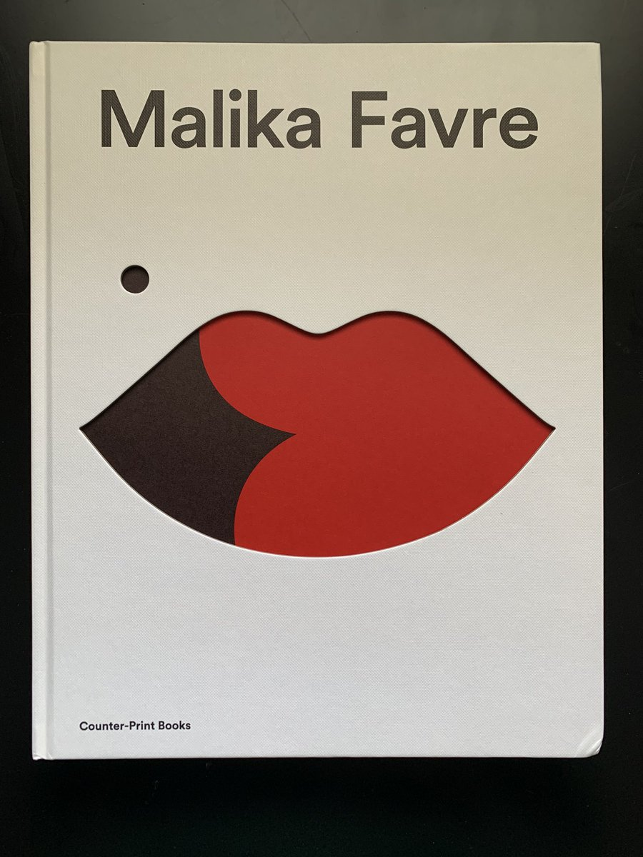 The book from @malikafavre arrived today