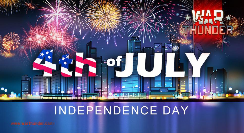 Die Vereinigten Staaten von Amerika feiern am 4. Juli den Unabhängigkeitstag - Feiert diesen Jahrestag in #WarThunder mit ihnen und gewinnt ein Gedenkemblem!  Mehr dazu: https://t.co/pttngeMz9p https://t.co/eK5KZpcf2Y