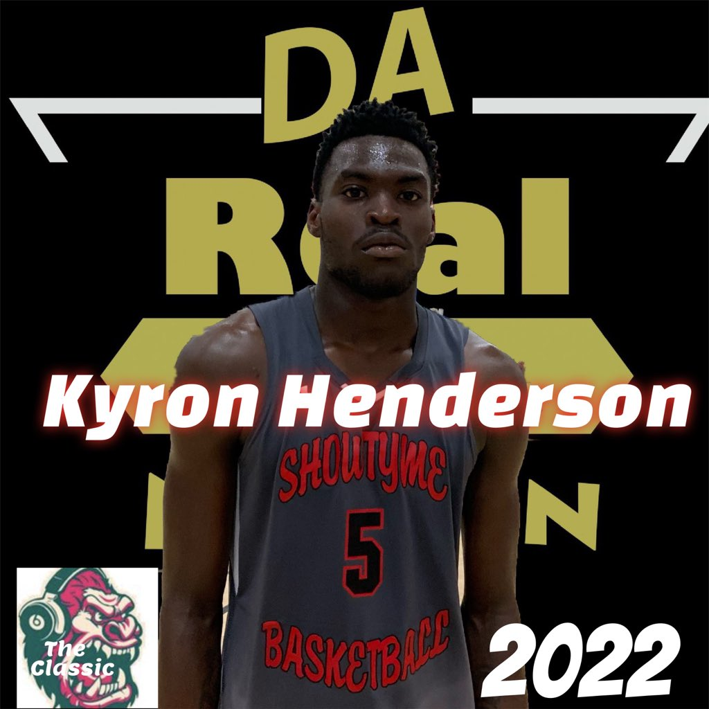 @Dallas_Showtyme keep athleticism in its stable, 6'5 @kyronhenderson1 of @JFKimball_HS showed that he is up now with a few rim shakers in THE CLASSIC! Terror on the boards, good defender & loves to get up and down the floor!! #DaREALtalkNationpic.twitter.com/p1FFH5zZmZ