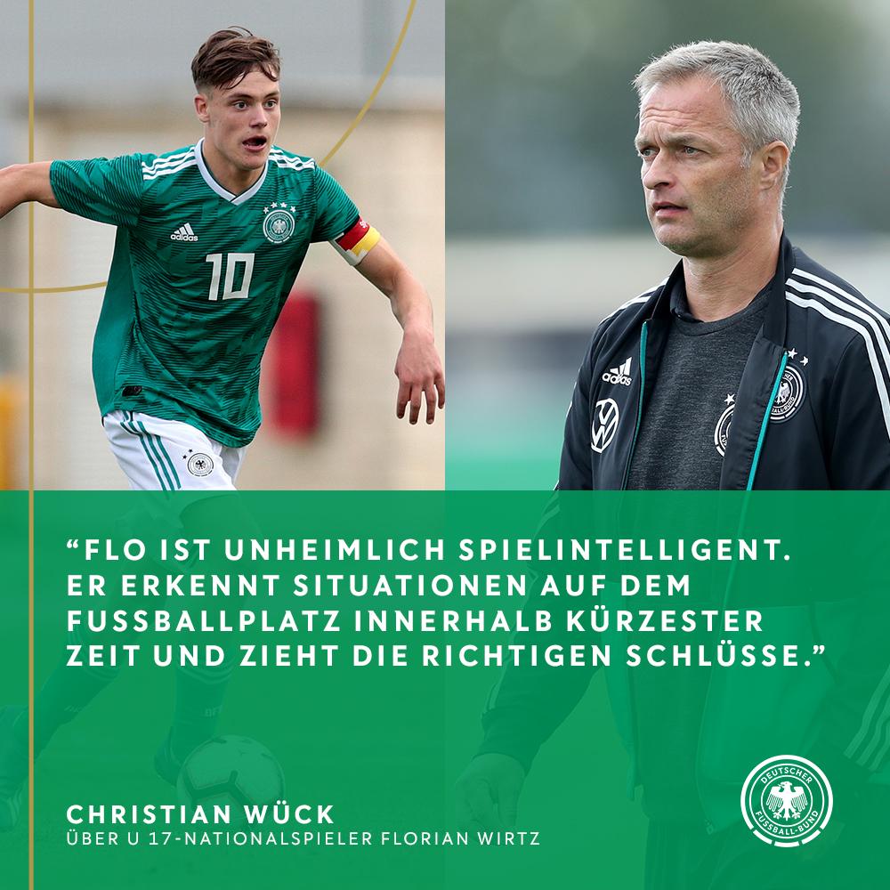 Sollte er morgen auflaufen, wäre Florian #Wirtz von @bayer04fussballder jüngste Spieler, der je in einem @DFB_Pokal-Finalezum Einsatz gekommen ist. #U17-Coach @ChristianWueckschreibt im eMagazin zum Pokalfinale über ihn.  Zum eMagazin ➡️ https://t.co/VrhmwTa3pe  #B04FCB https://t.co/uRU0bgb33i
