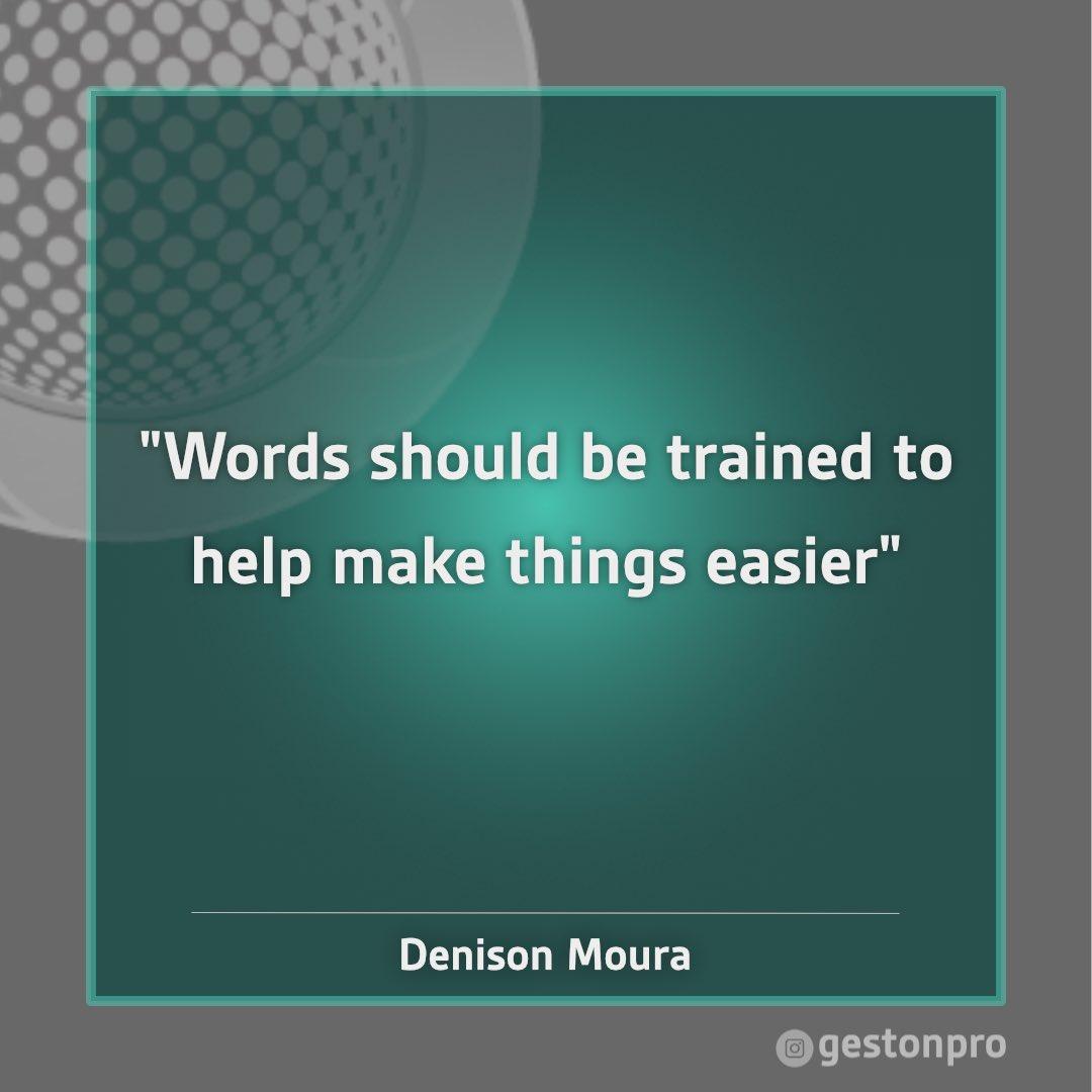 Mastering to use words is the key to great achievements  Dominar o uso das palavras é a chave para grandes realizações #practicality #praticidade #words #palavras #training #treinamento #achievement #realização #consulting #consultoria #values #valores #coachingpic.twitter.com/9WOuaI6J9X