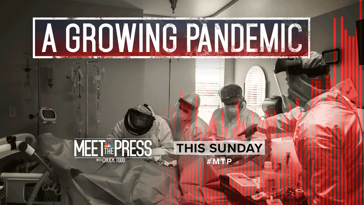 THIS SUNDAY: As the pandemic grows, guest moderator @Mitchellreports talks to @GovMurphy, Gov.@AsaHutchinson and Infectious Diseases Physician @BhadeliaMD exclusively. Plus, an exclusive one-on-one with Fmr. National Security Advisor @AmbassadorRice. #MTP #IfItsSunday https://t.co/dWdEezg98L