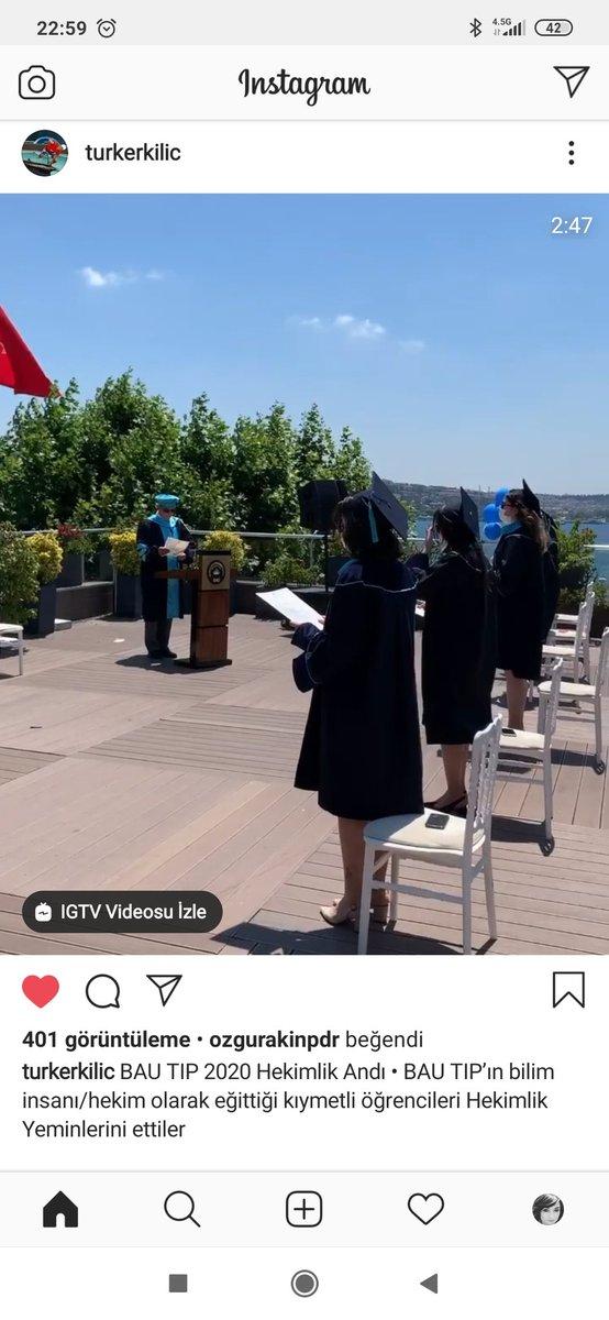Bu mezuniyet ayakta alkışı hakediyor 👏👏👏👏 @turkerkilic @sirin_karadeniz https://t.co/QIpyEYm3wB