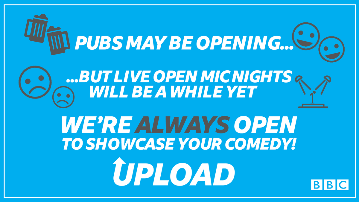 We love to showcase your comedy!   All you need to do for a chance to appear on air / on our socials is...   👉 https://t.co/pDq752fUSY https://t.co/b6oUyKGaCR