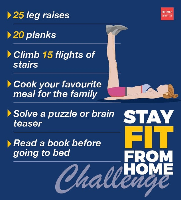 Today, solve a puzzle and do some planks #stayfitfromhomechallenge https://t.co/jXM64JrHN3