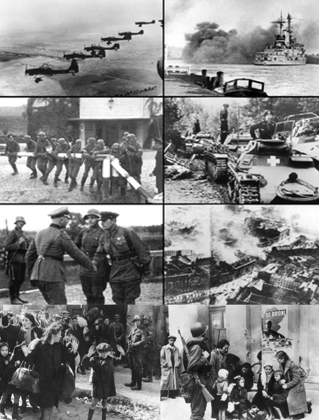 Appeasement In 1939 the Nazis invaded Poland and a country was destroyed. Today, the CCP invaded Hong Kong and a city was destroyed. The history's tragedy is repeating⋯ https://t.co/jYNoEZcFaM