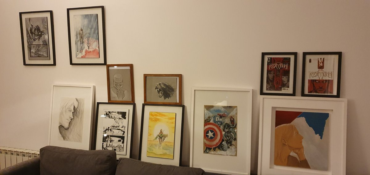 framing some of my stuff..
