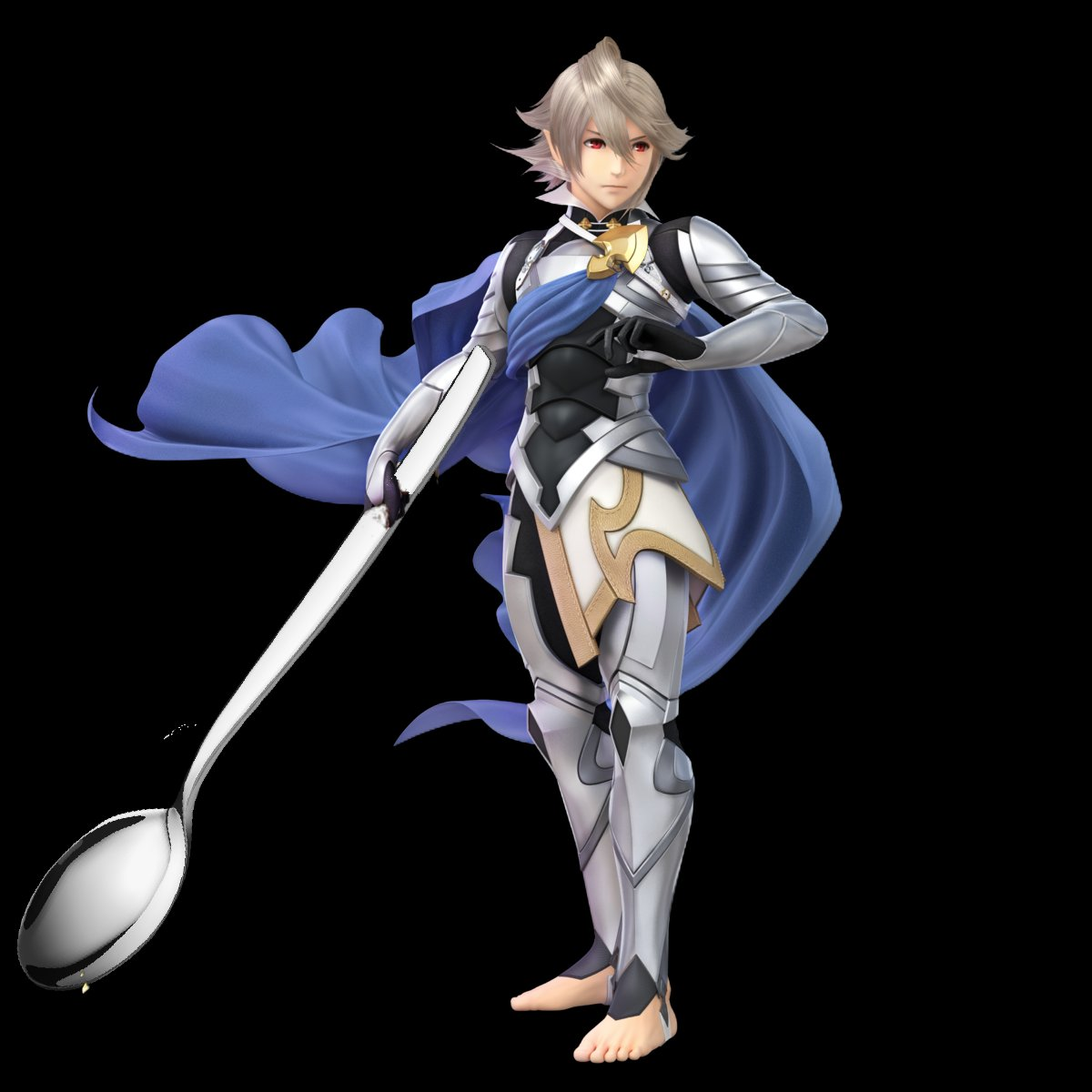It's not good at all but here's Corrin with a comically large spoon <br>http://pic.twitter.com/zggDSxeXC6