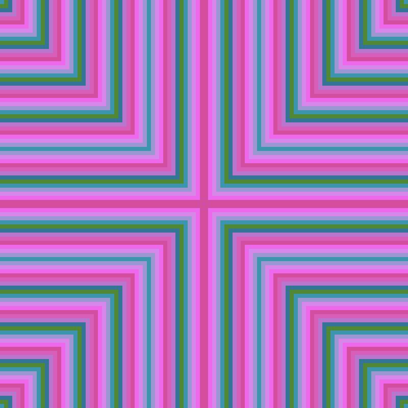Low resolution n color gradient c1=3b95ad,c2=c597e3,c3=f16cf6,c4=cc478c,c5=e376e2,c6=297490,c7=669302,t=x,cr=1,xc=46,yc=26,nc=7,z=17pic.twitter.com/h03j7Z7dqV