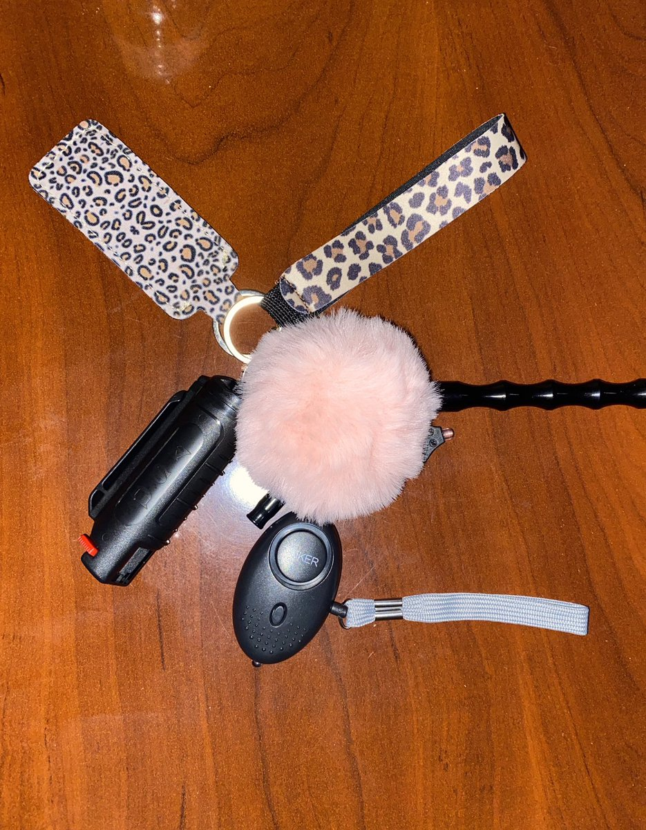 Hey twitter! I am selling self defense keychains. Keychains include pepper spray, self-defense alarms,whistle and a mini flashlight for $25, cash and cash app only. I am taking pre-orders at this time. Delivery and pickups are also available. <br>http://pic.twitter.com/mT4L16rAYY
