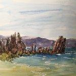 Image for the Tweet beginning: Tufa at Mono Lake -