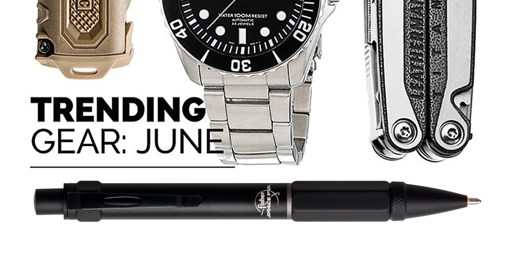 Our Clutch Space Pen in the most popular #everydaycarry for the month of June! Thank you #EDC #Community for highlighting our top-of-the-line writing instruments!  #FisherSpacePen #GoesAnywhereWritesEverywhere https://t.co/Ius3teAxuQ https://t.co/odcieH2Aeb