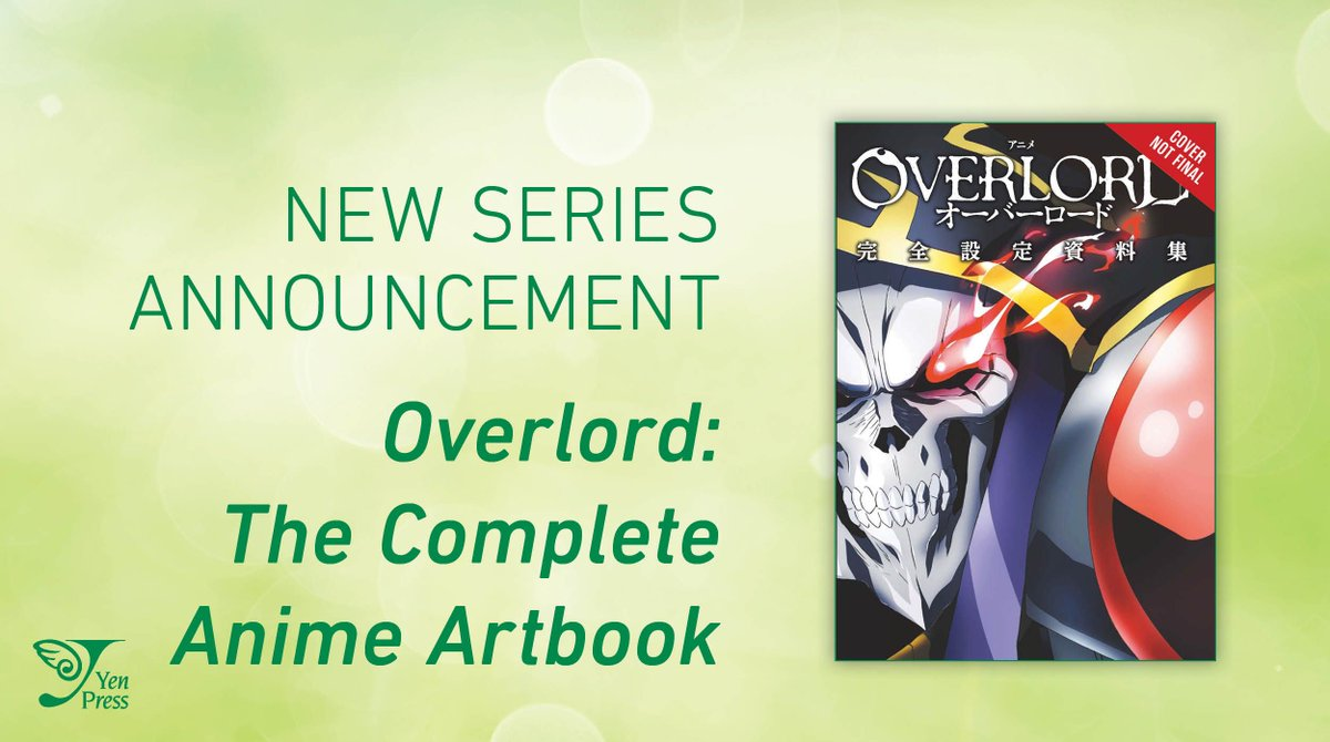 Turkeyen Press On Twitter Art Book Announcement Overlord The Complete Anime Artbook A Deep Dive Into The Planning And Making Of The Overlord Anime That Showcases The Details Behind The Settings Outfits