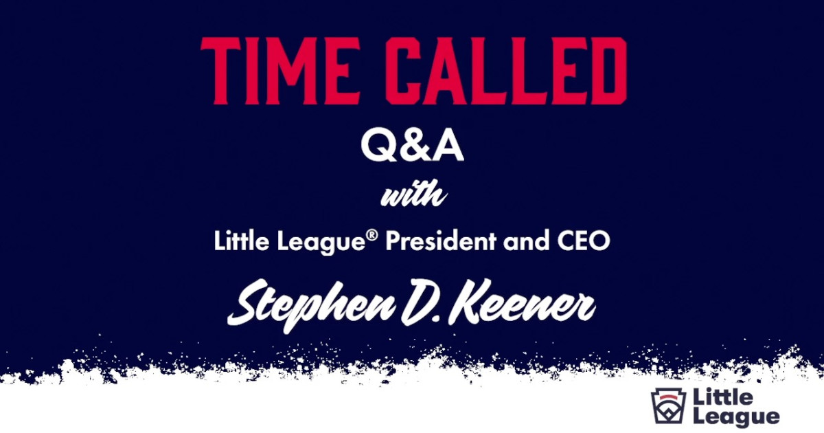 If you missed it yesterday, heres our Q&A with @littleleagueceo Steve Keener: ltllg.org/pER450Ap5in