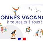 Image for the Tweet beginning: Bonnes vacances à toutes et