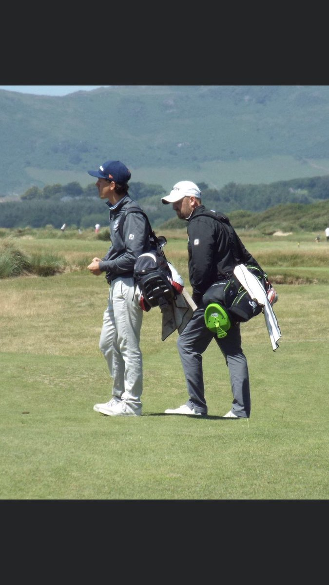 Miss playing these foursums games with my golf bro for life @leejonesyboi represented @conwygolfclub with the back to back 🏆 #NORTHWALES #Northisbest