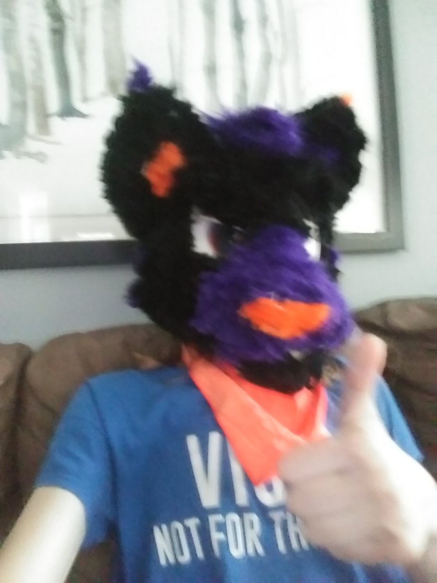 Ready for fursuiting 101  #FursuitFriday #VirtualAnthrocon<br>http://pic.twitter.com/kz0dwUJwyg