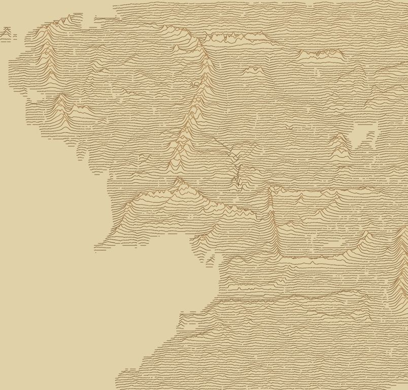 This combines two very popular map trends. A ridge line map of Middle Earth. Source: https://t.co/6jOMi50ztR https://t.co/9NM3eb8PJ3