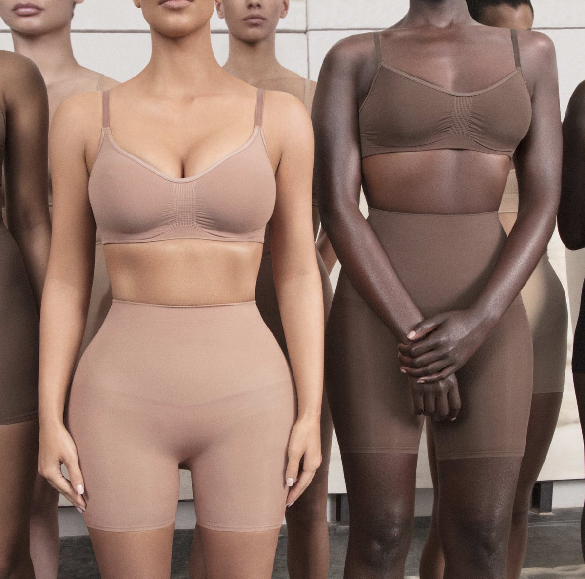 This is the shapewear that changed the industry. Our best selling Sculpting Bra is available in select colors and sizes XXS - 5X. Shop now before it sells out again and enjoy free shipping on domestic orders over $75. Shop: skims.social/twitter-shop