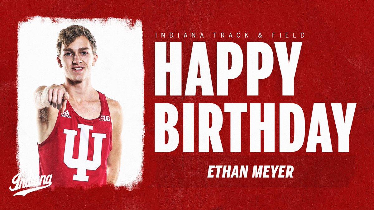 Sending birthday wishes to Ethan Meyer! 🎉  #IUTF | #GoIU ⚪️🔴 https://t.co/zu9mpK6ujZ