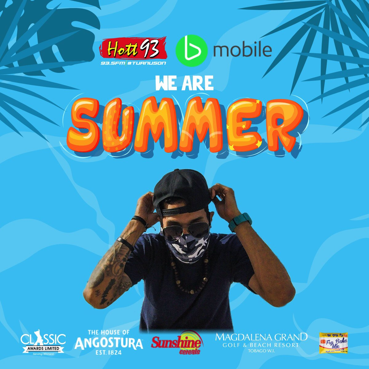 Catch me from 7-8pm as we kick off 'WE ARE SUMMER' streaming live from the rooftop of @hott935 on FB Fan Page & IG. Link up! ⛓⛓  #hott93 #summertime #wearesummer #bmobile #weekend #radiodj #weekendvibes https://t.co/s3RyuVCm8C