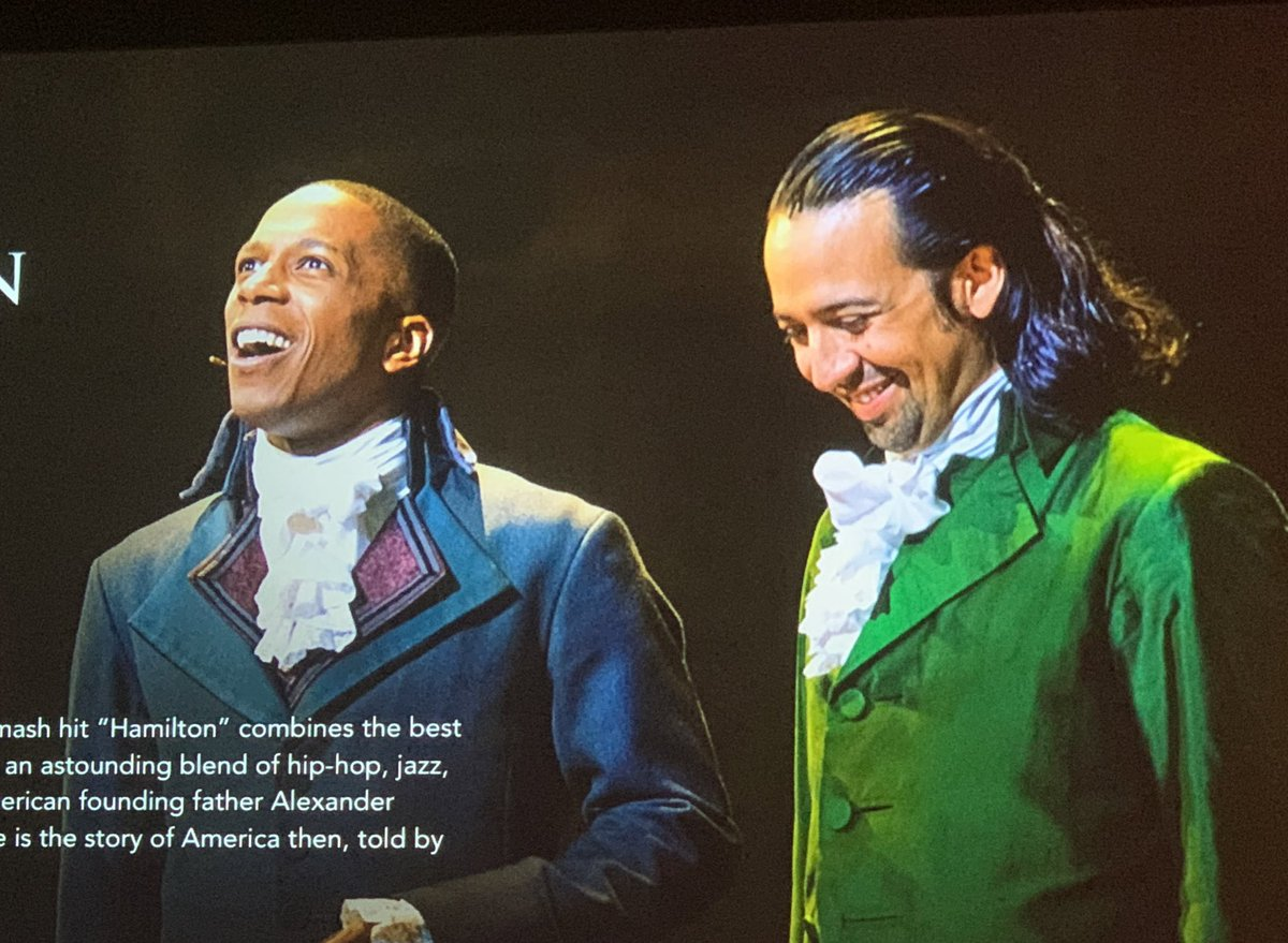 So we're gonna all start the movie at 7pm EST yah? Use the hashtag #Hamilfilm? This will be the big loud talkalong we'd never actually do inside the theater, so let's do it big. Thank you to those of you who have already seen it and are back again. Let's goooooo